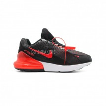 Nike Air Max 270 Black Red KPU