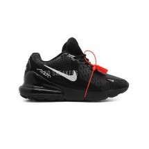 Nike Air Max 270 Black White KPU