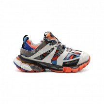 Balensiaga Track Trainer Blue-Grey-Orange