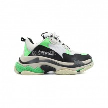 Balensiaga Triple S Neon Green White