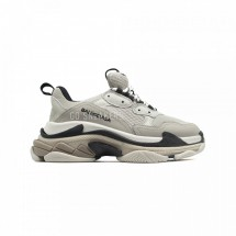 Balensiaga Triple S Light Gray