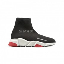 Balensiaga Supreme Speed Trainer Black-Red