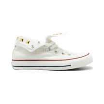 Converse All Star Chuck Taylor High Stadded White