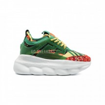 Versace Chain Reaction Green Multicolor Print