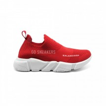 Balensiaga Speed Trainer Low Cut Red