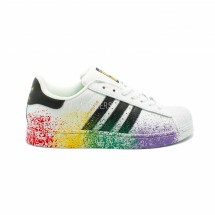 Adidas Superstar White-Splash