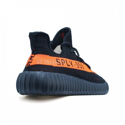 Adidas YEEZY 350 SPLY Black-Orange
