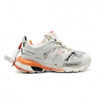 Balensiaga Track Trainer White Orange