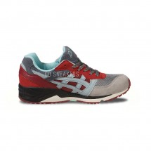 ASICS GEL LIQUE GREY RED