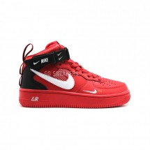 Nike Air Force 1 Mid SE Premium Red