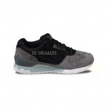 ASICS GEL RESPECTOR GREY BLACK