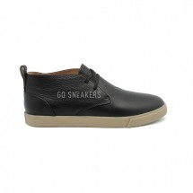 Loro Piana Freetime Lace Up Sneakers Black Leather