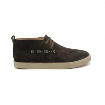 Loro Piana Freetime Lace Up Sneakers Chocolate Suede