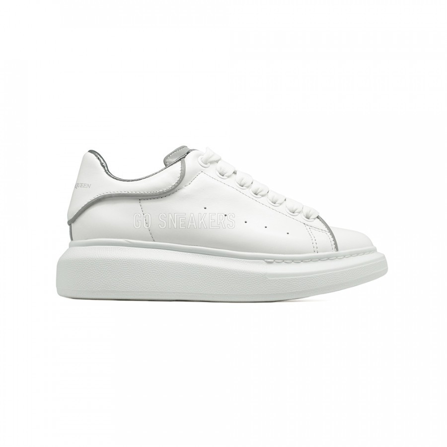 Alexander McQueen Luxe Reflect-White