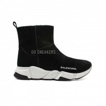 Balensiaga Speed Trainer Black Winter