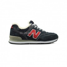 New Balance 574 Navy-Red